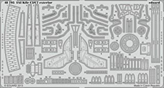 Eduard 1:48 IAI Kfir C2/C7 Exterior for AMK - PE Detail Set #48795
