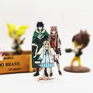 Game Store America Tate no Yuusha no Nariagari Iwatani Raphtalia Filo Acrylic Stand Figure Model Double-Side Plate Holder Cake Topper Anime