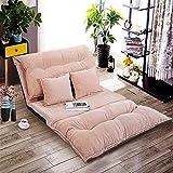 JAXSUNNY Adjustable Folding Floor Sofa,Leisure Soft Confortable...