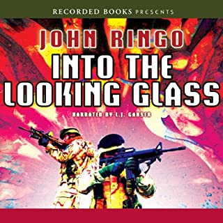 Into the Looking Glass audiobook cover art