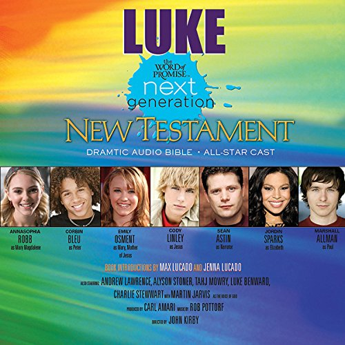 (26) Luke, The Word of Promise Next Generation Audio Bible audiobook cover art
