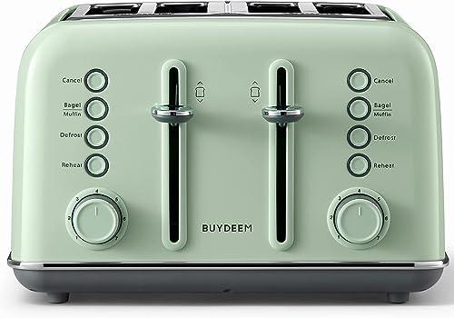 BUYDEEM-DT-6B83-4-Slice-Toaster,-Extra-Wide-Slots