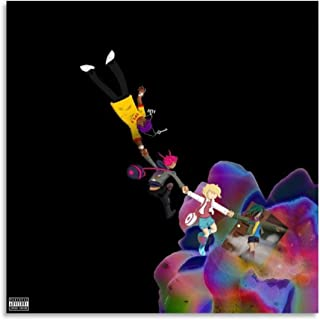 HBYZY Affiche Hd Rapper The Perfect LUV Tape Album Cover Poster Lil Uzi Vert 222 Tableau décoratif Toile Art mural Salon P...