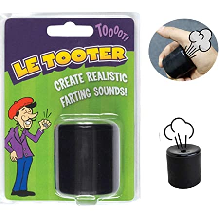 Le Tooter Toy Novelty Squeeze Pooter Fart Sound Machine For Joke Fun Party Gift
