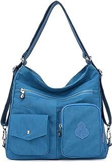 comprar comparacion Outreo Mujer Bolsos de Moda Impermeable Mochilas Bolsas de Viaje Bolso Bandolera Sport Messenger Bag Bolsos Mano para Tabl...