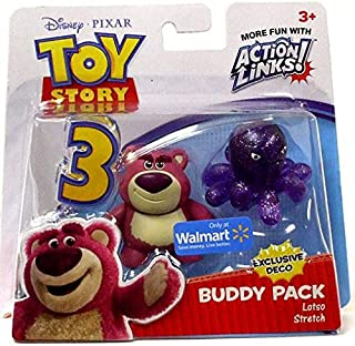 Disney / Pixar Toy Story 3 Exlusive Action Links Mini Figure Buddy 2Pack LotsoHuggin Bear Stretch