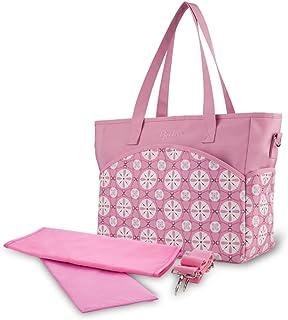 Fanspack Diaper Shoulder Bag Printed Portable Diaper Handbag Diaper Organizer Bag