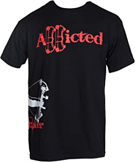 addicted bow hunting shirt