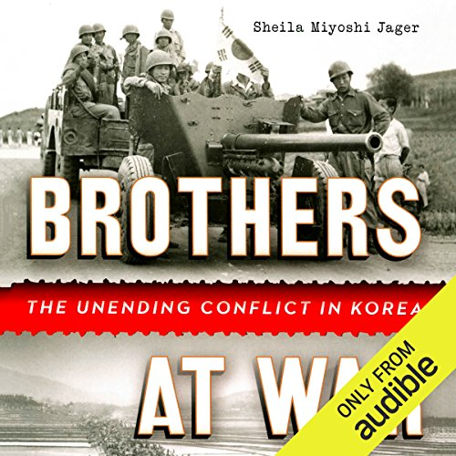 Brothers at War audiobook cover art