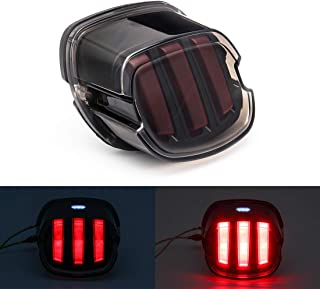 SKTYANTS Motorcycle LED Tail Light Turn Signals Eagle Claw Brake Lights Integrated for Harley Davidson Sportster Fatboy Heritage Softail XL FLHR FLHRCI FXD Rear Brake Park Light Stop Lamp