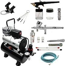ABEST Airbrush Kompressor-Kit: Luftschlauch, Airbrush-Halter, Minifilter,..