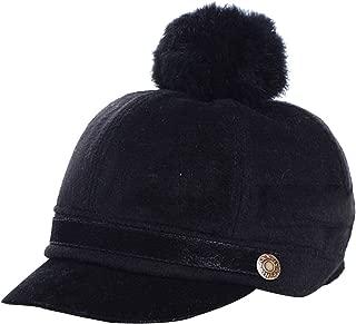 Kids Children Baby Felt Woolen Peaked POM POM Knight Equestrian Baseball Cap Hat