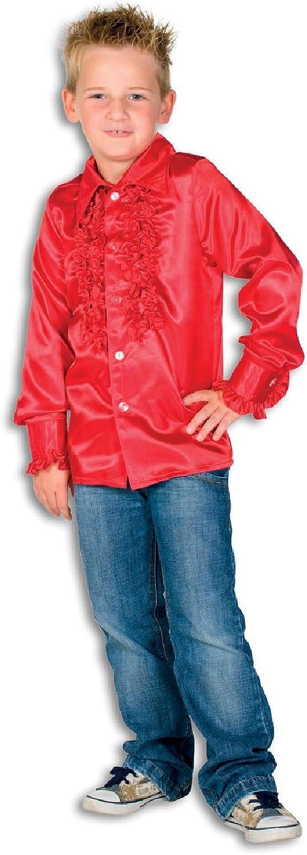 L310033C rot Kinder Rüschenhemd Discohemd B0779HJFZ9 Neuer Stil  | Elegante Und Stabile Verpackung