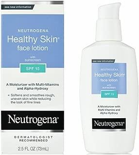 healthy skin neutrogena face lotion