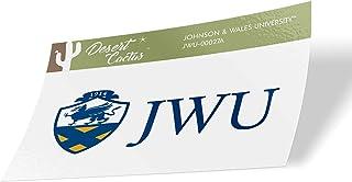 Johnson & Wales University JWU Wildcats NCAA Vinyl Decal Laptop Water Bottle Car Scrapbook (Sticker - 00027A)