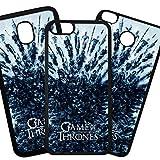 Fundas De Moviles Carcasas De Moviles Funda Carcasa Compatible con Samsung Galaxy A70 Modelo Juego de Tronos, Game of Thrones, Serie de TV, Logo Stark