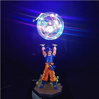 Sponsored Ad - CJF Anime Dragon Ball Son Goku LED Cartoon Table Lamp Super Saiyan PVC Action Figure Collectible Model Toy ...