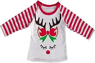 Baby Kids Girl Unicorn Thanksgiving Halloween Pumpkin Car Print Ruffle Polka Dot Long Sleeve Cotton T-Shirt Top Outfits
