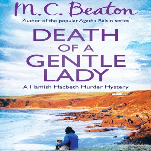 Death of a Gentle Lady audiobook cover art
