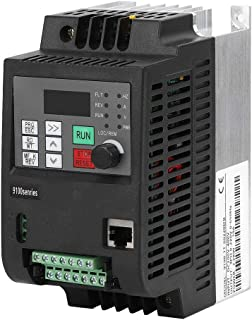 VDF Inverter, MPPT Inverter Solar Convertidor de Frecuencia Fotovoltaico DC200-400V Entrada Trifase AC 0-220V Salida PWM Frecuencia Diver Inverter Transformador (2.2KW))