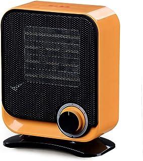 XYW-0007 Calefactor Eléctrica Calefactor Mini Cerámica Calefacción eléctrica Seguridad y Ahorro de energía Invierno Escritorio Hogar Baño Naranja 1500W