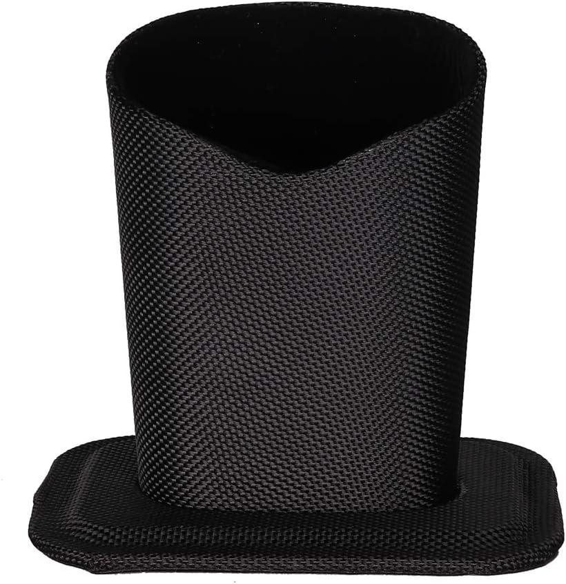 Molshine Desktop Upright Eyeglasses Spectacles Glasses Holder Stand Case-Soft Plush Lining (Black)