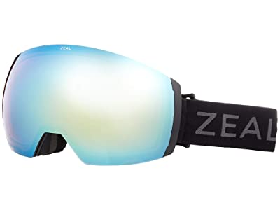 Zeal Optics Portal XL (Dark Night w/ Alchemy Mirror + Persimmon Sky Blue Lens) Goggles