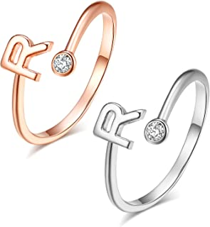 Best stackable letter rings Reviews