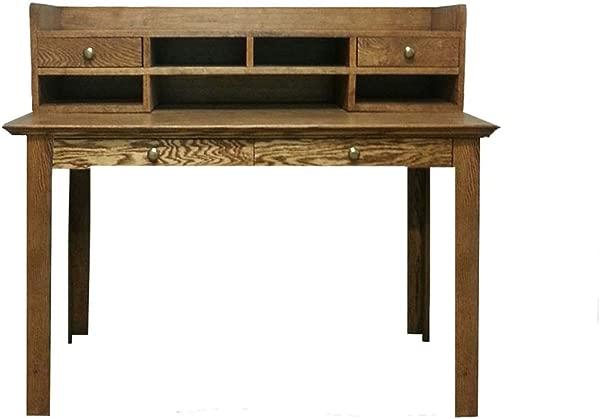 Forest Designs Traditional Mini Hutch 54W X 12H X 10D No Desk 54w Black Alder