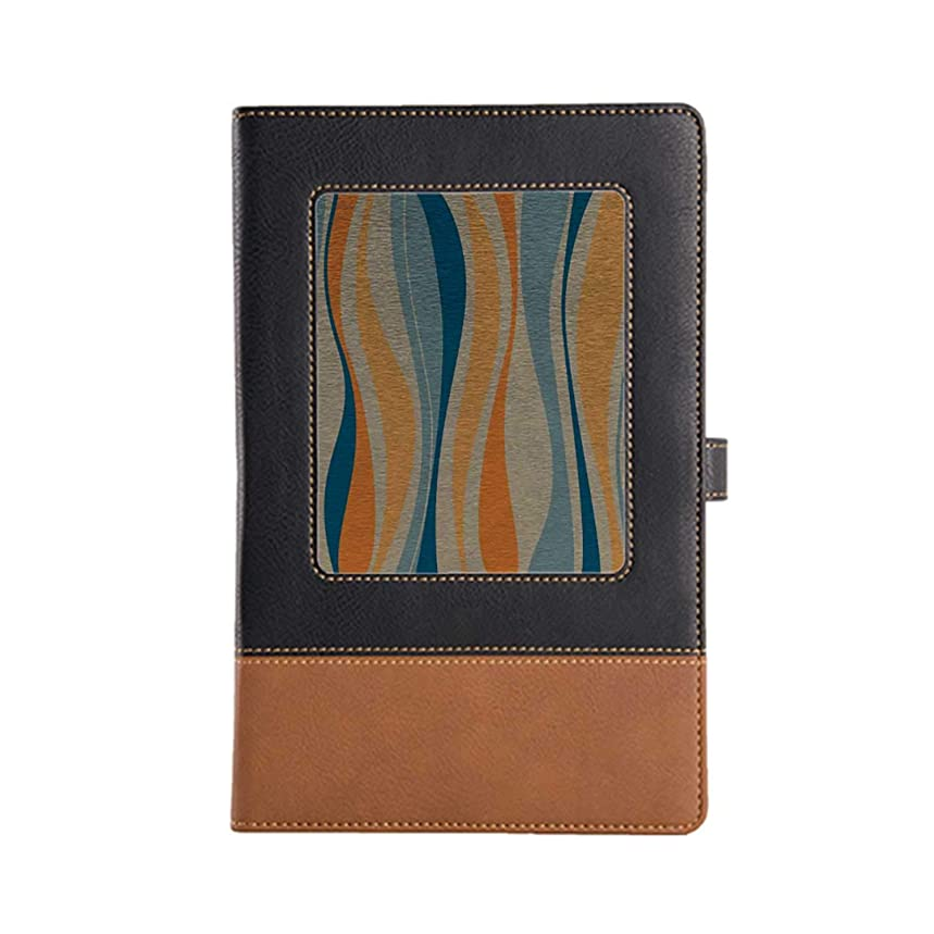 Easy to Carry Without Occupying Large Space Vintage Writing, Poets, Travellers as Diary Planning Leather Notebook A5, 8.6 x 6.1 Inches