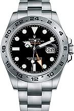 Rolex Explorer II Black Dial Stainless Steel Men's Watch 216570
