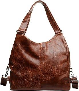 Hobo Bag Slouchy Shoulder Bag Vintage Satchel Handbag Retro Zipper Hobo Bag