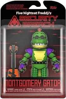 ファイブ・ナイツ・アット・フレディーズ:セキュリティ・ブリーチ ファンコ 5インチ アクションフィギュア モンゴメリー・ゲーター / FIVE NIGHTS AT FREDDY'S : SECURITY BREACH 2020 FUNKO MO...