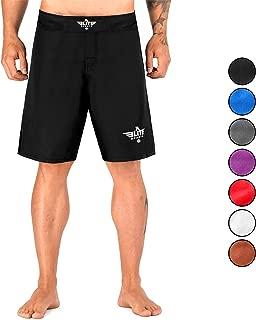 Men's MMA Fight Shorts, Black Jack UFC, BJJ, No Gi, Grappling, Jiu Jitsu Shorts