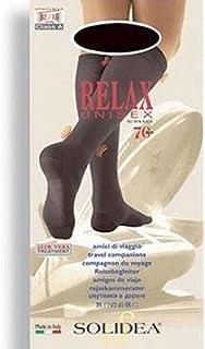 Solidea Relax Unisex Calzini 70 Den Colore Nero Taglia 5-XXL