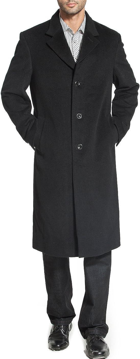 BGSD Men's Henry Cashmere Blend 5 popular Coat Minneapolis Mall Regular Walking Long Big