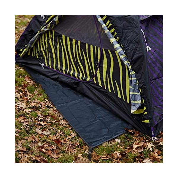 Bessport Tent Footprint for 1-2-3 Person Tent Waterproof Camping Tarp with Drawstring Carrying Bag for Picnic, Hiking…