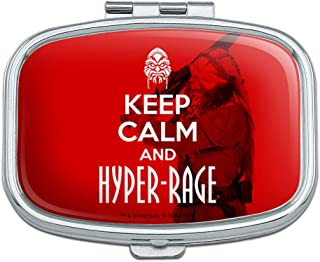 Farscape Keep Calm and Hyper-Rage Ka D'Argo Luxan Rectangle Pill Case Trinket Gift Box