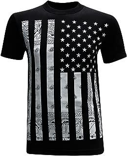 California Republic Bandana Flag White Men's T-Shirt