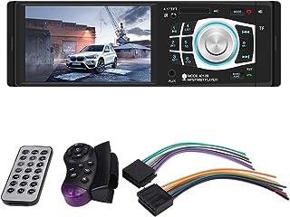"Central Multimidia 4.1"" 1 Din Radio Automotivo MP5 Player Bluetooth USB Aux SD 4x60w LM Electronics"