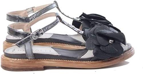 Sandalo DEI COLLI 1TATO146 schwarz C.Fucile Tato Fod. Ecopelle