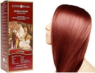 Surya Brasil Products Henna Cream, Copper, 2.37 Fluid Ounce