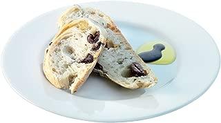 LSA International Dine Bread/Cake Plate Rimmed (4 Pack), 7.1