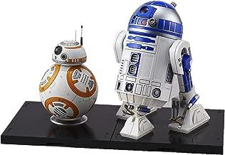 Bandai Hobby Star Wars 1/12 Modelo de plástico BB-8 y R2-D2 Star Wars