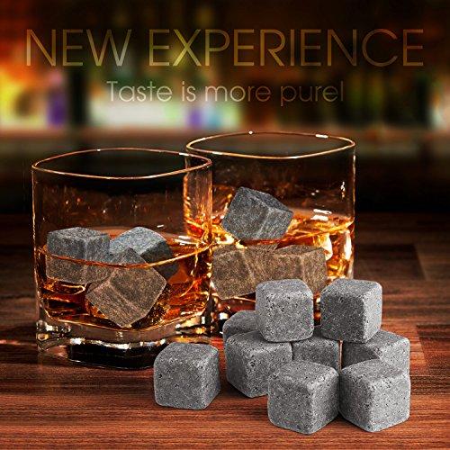 SAVFY® Lot de 9 Pierres à Whisky...