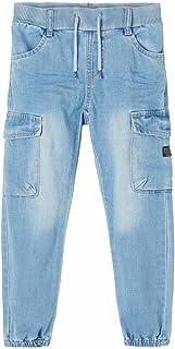 NAME IT jongens Jeans NMMBOB DNMTAVIDS 1464 CARGO PANT NOOS