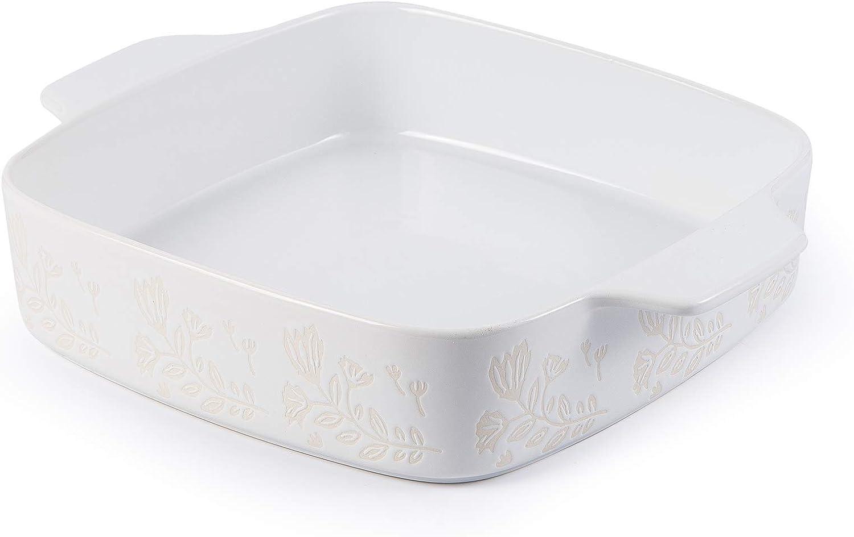 Wisenvoy Baking Dish Ceramic New Orleans Ranking TOP3 Mall Brownie 9x9 Pan Casserol