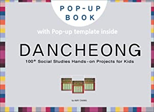Dancheong: DIY pop-up card making craft books for kids, Korean culture and travel, Korea traditional pattern (Korean Cultu...