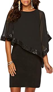 overlay dress with sleeves