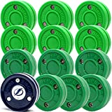 Green Biscuit 12 Pack 6 Original Passer/ 6 Snipe Shooters with NHL Puck/GB Sticker